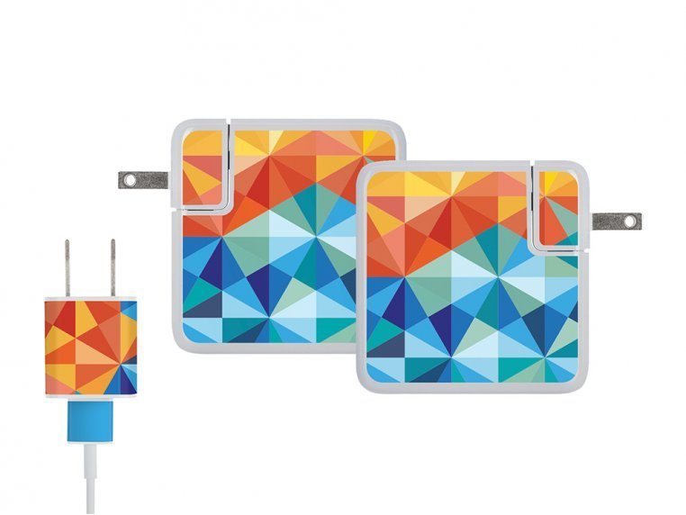 MacBook & iPhone Charger Stickers by Meo - 11