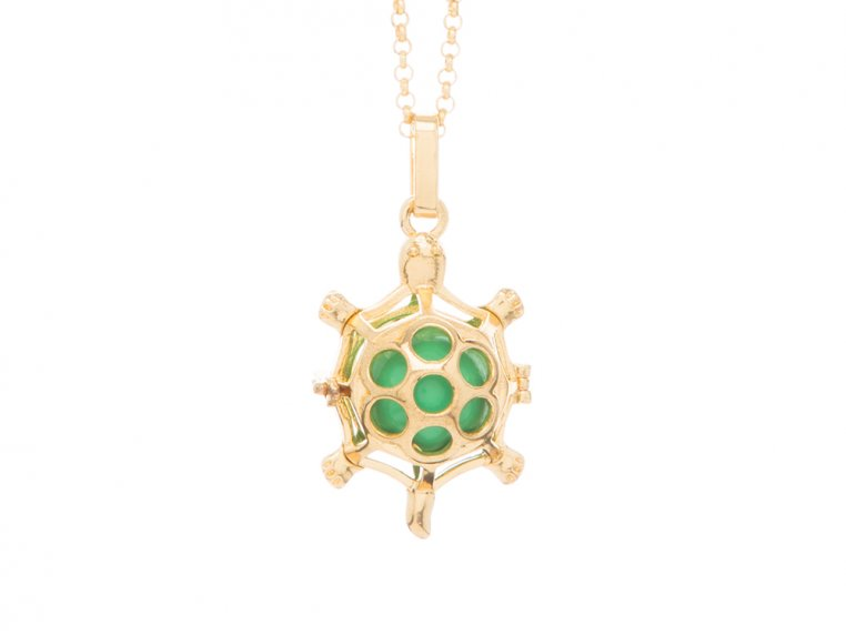Turtle Angel Locket by Yourself Expression - 8