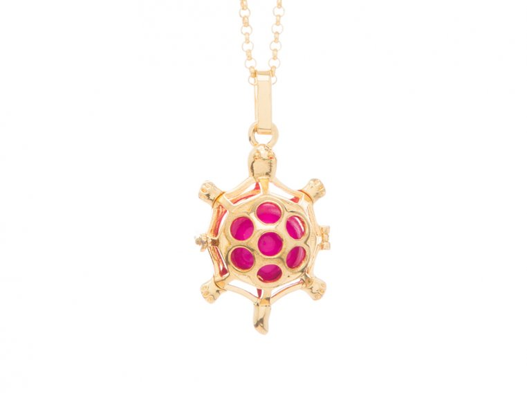 Turtle Angel Locket by Yourself Expression - 5