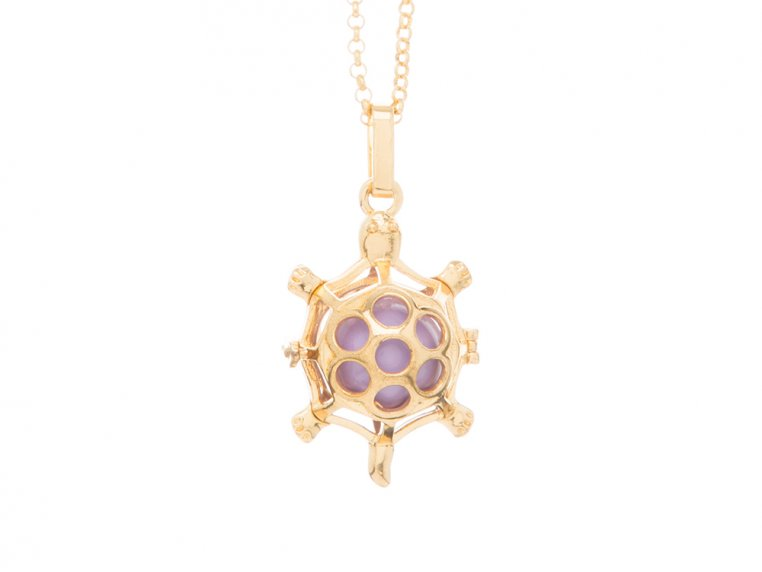 Turtle Angel Locket by Yourself Expression - 9