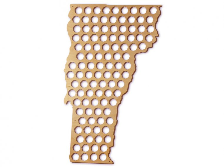 Choose Your State Beer Cap Trap by Torched Products - 51
