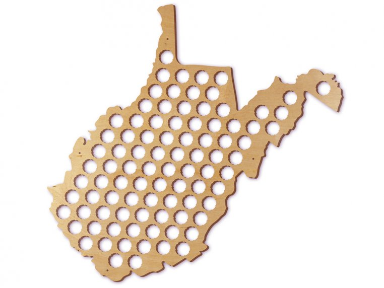 Choose Your State Beer Cap Trap by Torched Products - 54