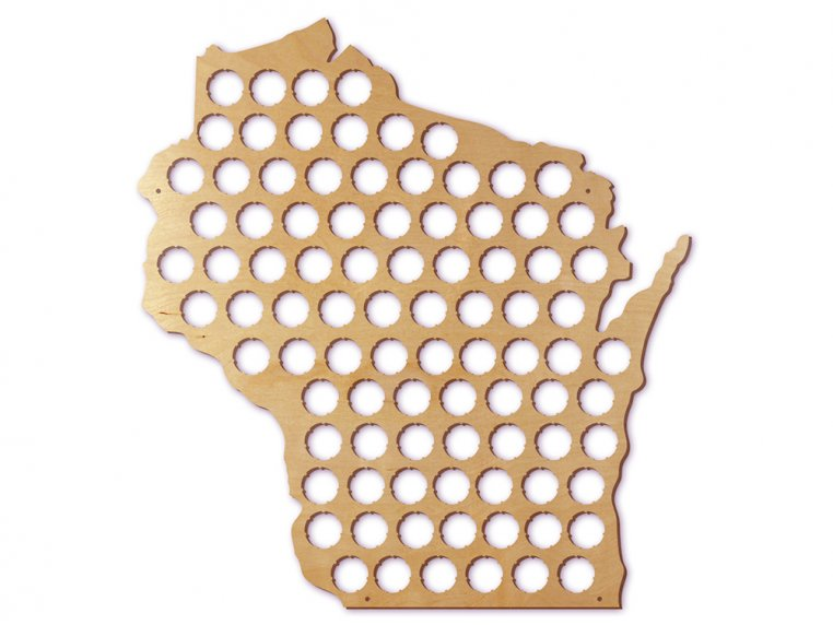 Choose Your State Beer Cap Trap by Torched Products - 53