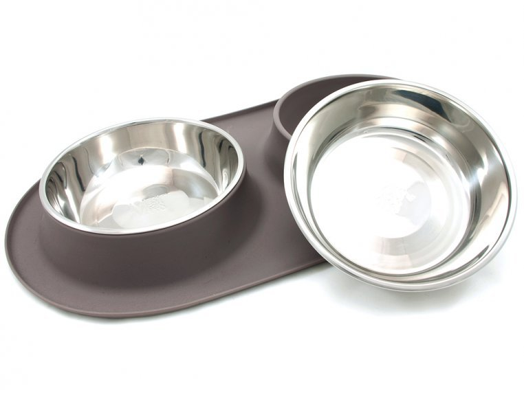 Dog Double Feeder Bowl by Messy Mutts - 6