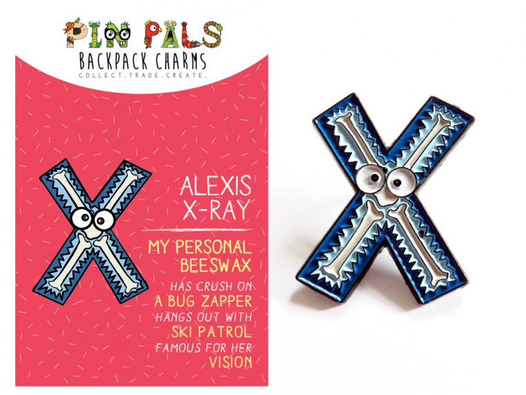 Alphabet Pins by Pin Pals - 47