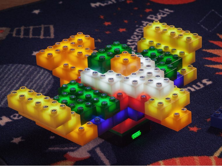 Light-up Building Blocks by Light Stax - 5