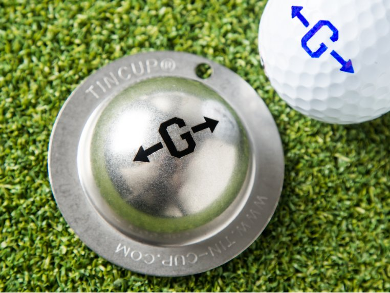 Alpha Players Golf Ball Marker by Tin Cup - 1