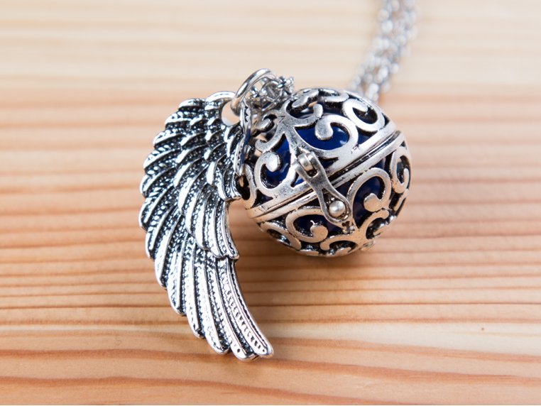Angel Wing Locket by Yourself Expression - 1