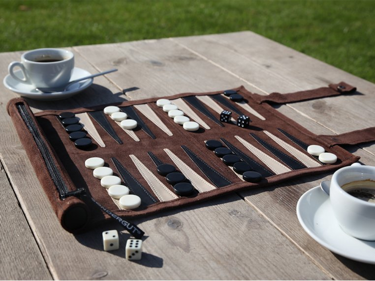 Roll-Up Travel Backgammon by Sondergut - 2
