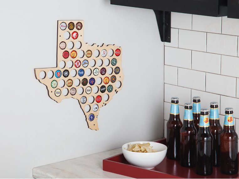 Choose Your State Beer Cap Trap by Torched Products - 1