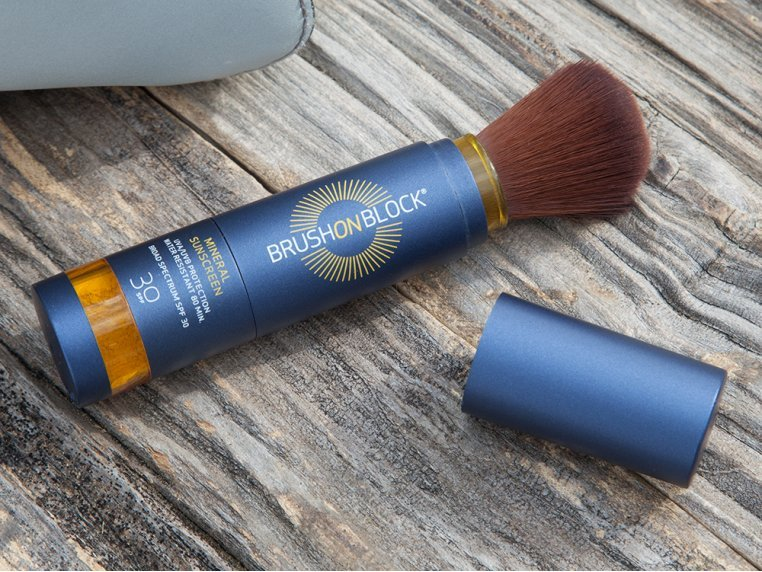 Mineral Powder Sunscreen by Brush On Block - 1