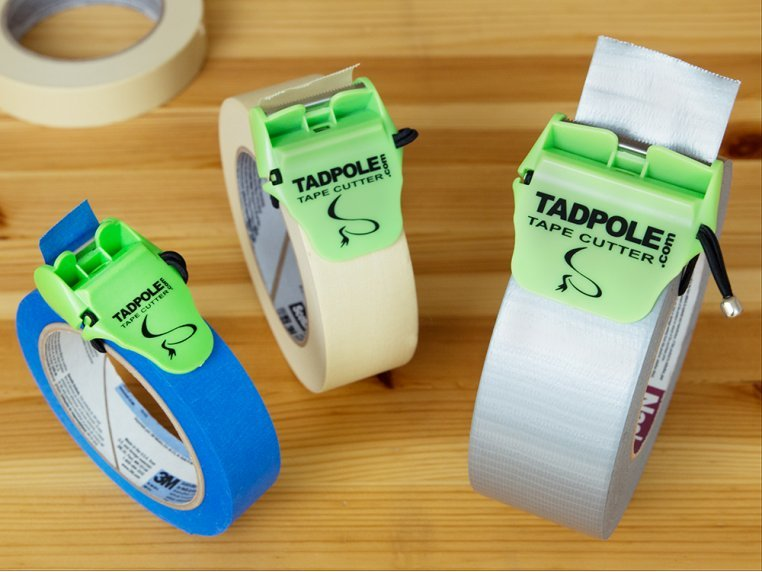 Tape Cutter Value 3-Pack by Tadpole - 1