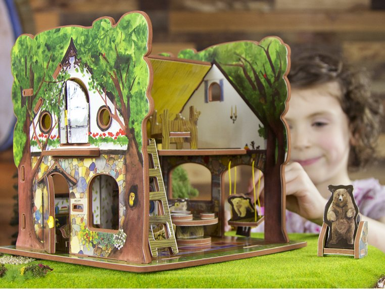 House & Storybook by Storytime Toys - 1