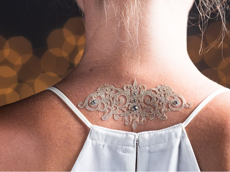 Skin Jewelry - Courageous by Black Lace - 1