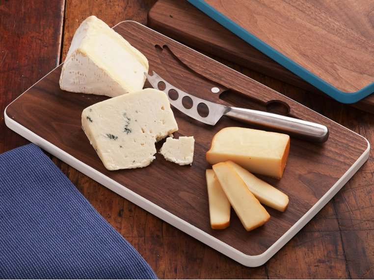 Cheese Board with Knife by David Rasmussen - 1