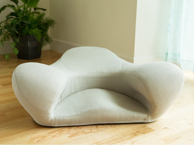 Ergonomic Meditation Seat - Fabric by Alexia - 3