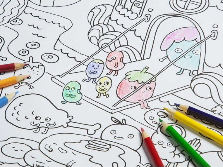 Really Big Coloring Poster by Pirasta - 3