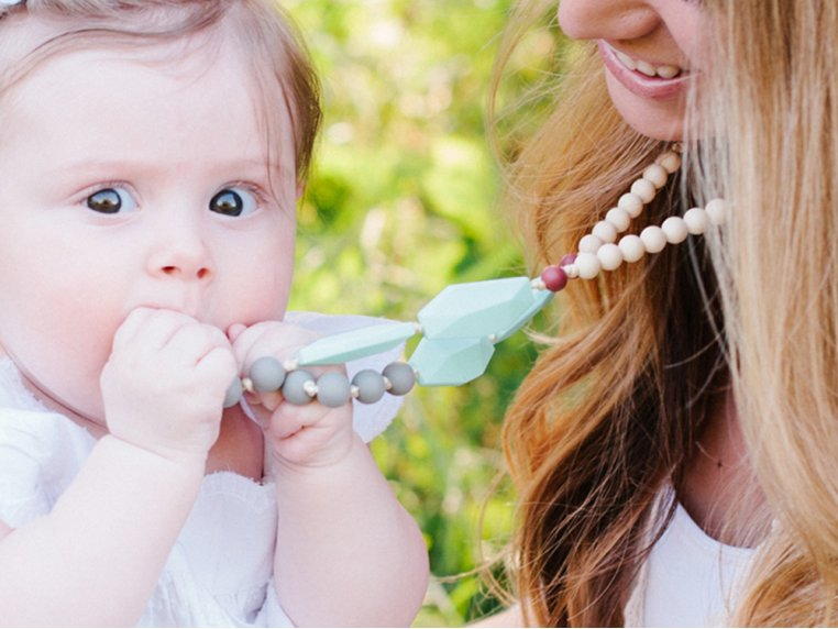Frida Silicone Teething Necklace by Mama & Little - 1