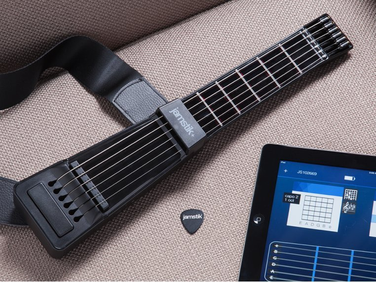 Bluetooth Connected Guitar by Jamstik+ - 1