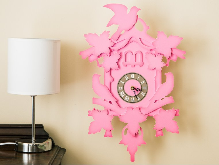 Large Cuckoo Clock by FunDeco - 1