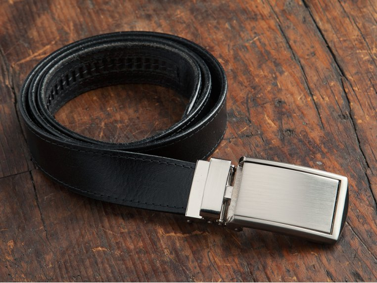 Premium Leather Belt & Buckle by SlideBelts - 1