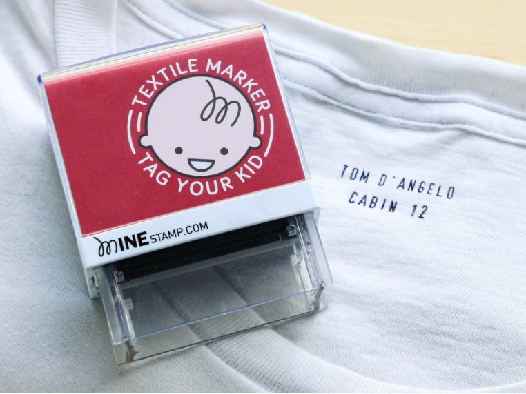 Personalized Label Stamp by Minestamp - 1