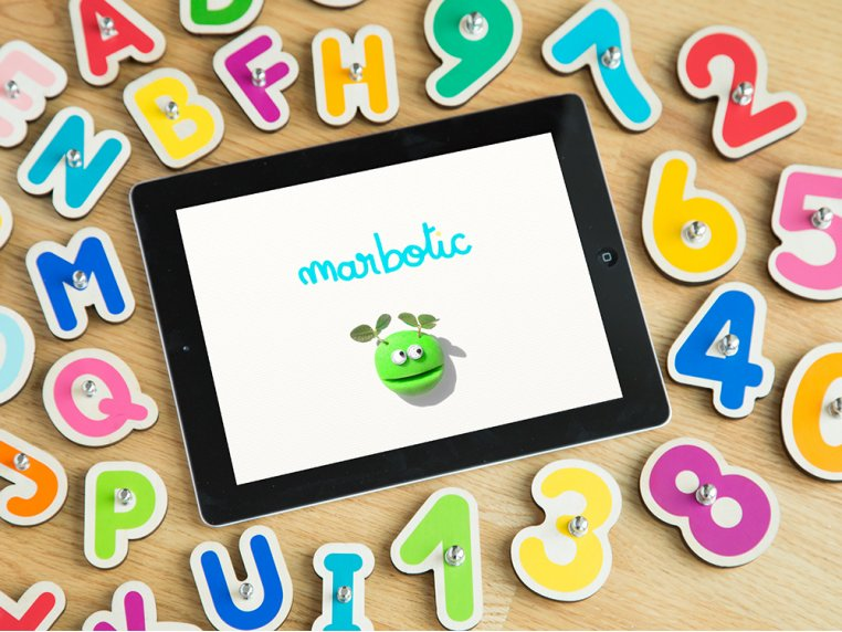 Smart Numbers + Letters Learning Toy by Marbotic - 1