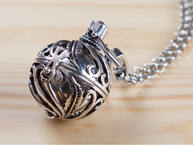 Spiral Design Angel Locket by Yourself Expression - 1