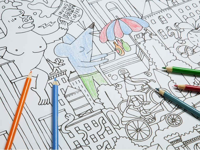 Really Big Coloring Poster by Pirasta - 5