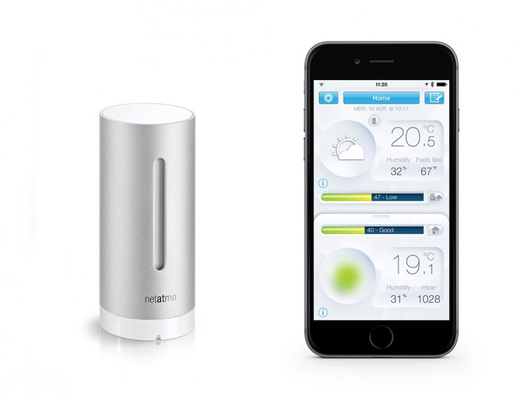 Weather Station Indoor Module by Netatmo - 2