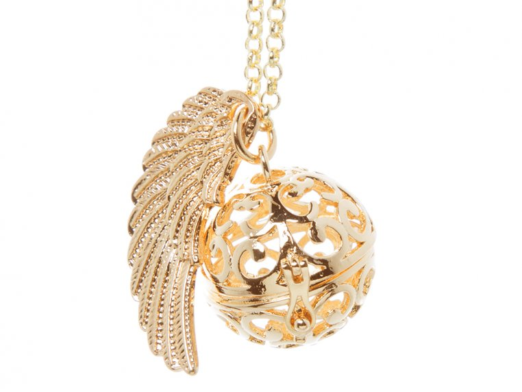 Angel Wing Locket by Yourself Expression - 3