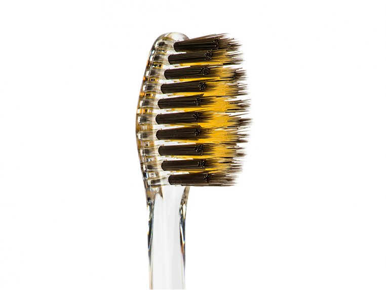 Charcoal & Gold Infused Toothbrush by Nano-b - 5