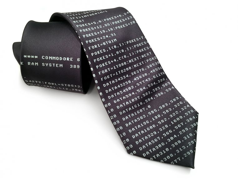 Hand-Printed Neckties by Cyberoptix - 5