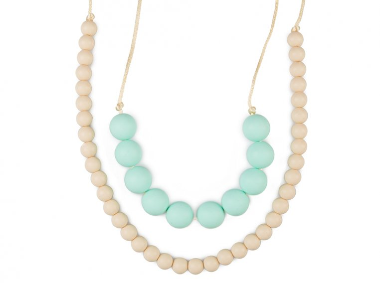 Deila Silicone Teething Necklace by Mama & Little - 5