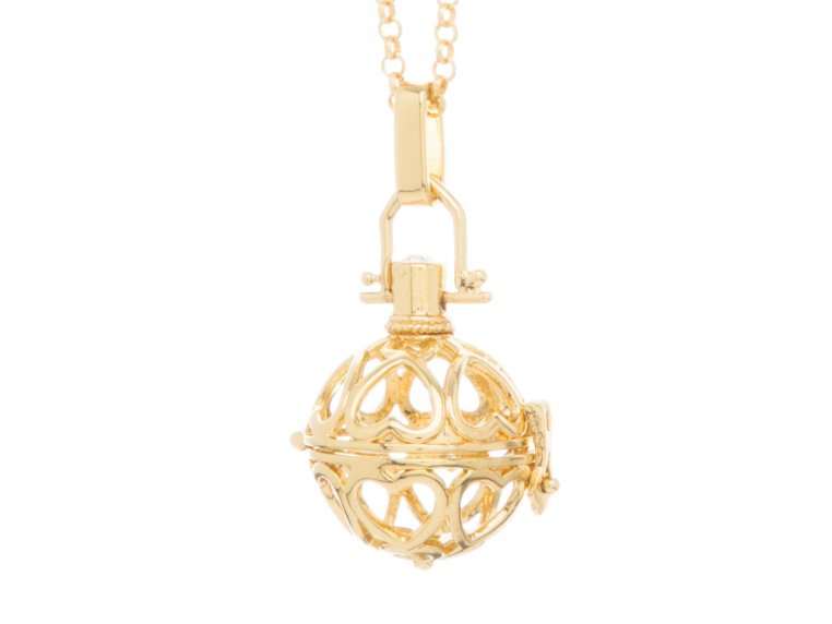 Heart to Heart Angel Locket by Yourself Expression - 3