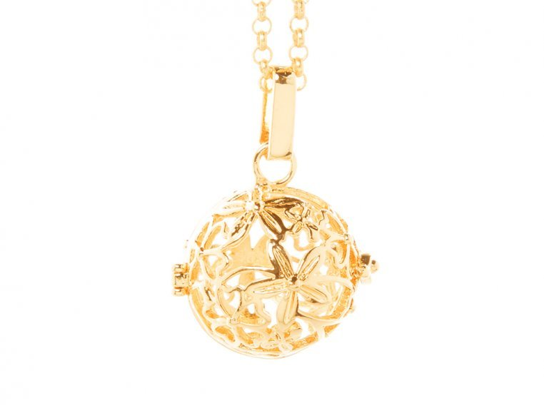 Hibiscus Angel Locket by Yourself Expression - 3