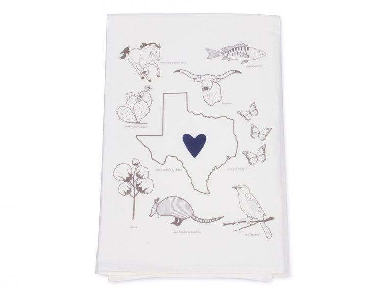 Love My State Hand Towels by Coast & Cotton - 5