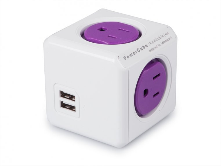 Single Outlet Travel Adapter by PowerCube - 4