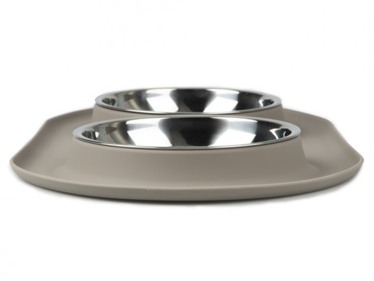 Cat/Tea Cup Dog Double Feeder Bowl by Messy Mutts - 4