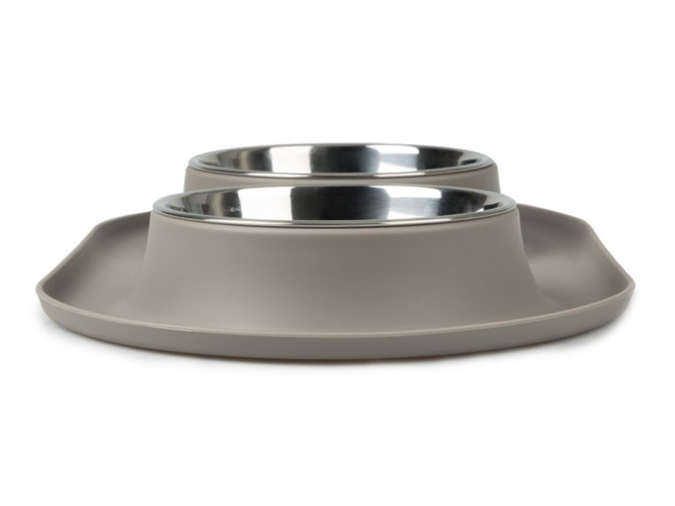 Dog Double Feeder Bowl by Messy Mutts - 3