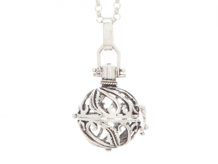 Spiral Design Angel Locket by Yourself Expression - 3