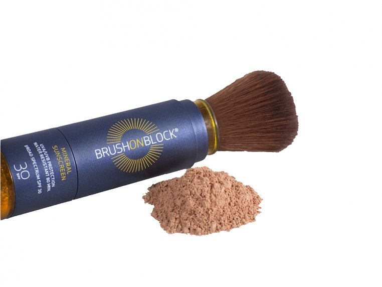 Mineral Powder Sunscreen by Brush On Block - 3