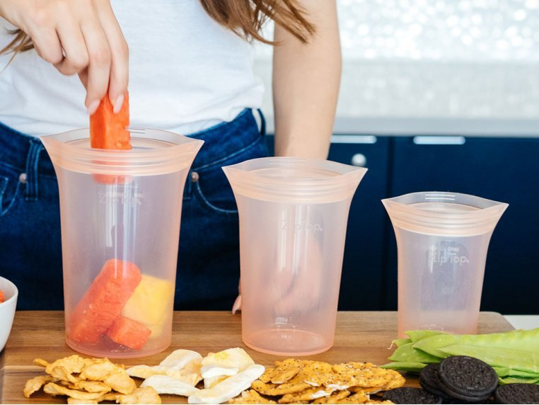Reusable Silicone Container Set by Zip Top - 3