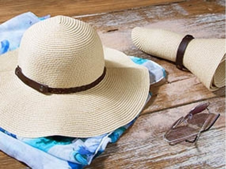 Roll-n-Go Sun Hat by SunLily - 1