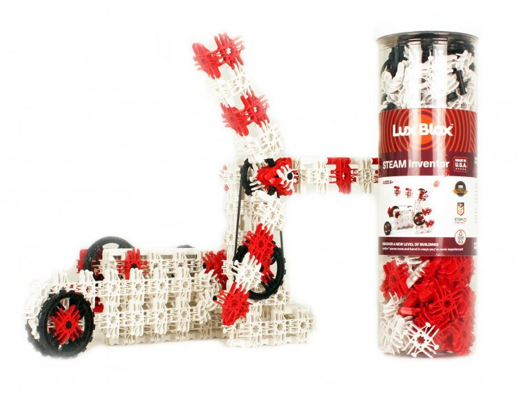 Creative Building Blocks Toy Set by Lux Blox - 7