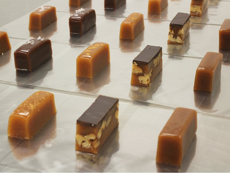 Four One Pound Boxes by Sweet Jules Caramels - 1