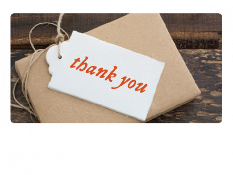 Thank You by Email Gift Card - 1