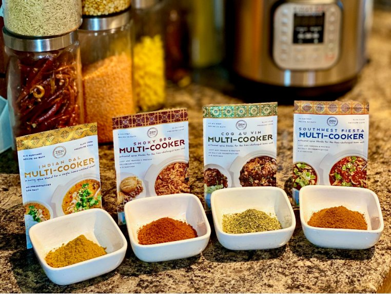Multi Cooker Spice Blend - 4-Pack by Zen of Slow Cooking - 1