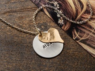Becoming Jewelry Handstamped, Maine-Made Necklaces | The