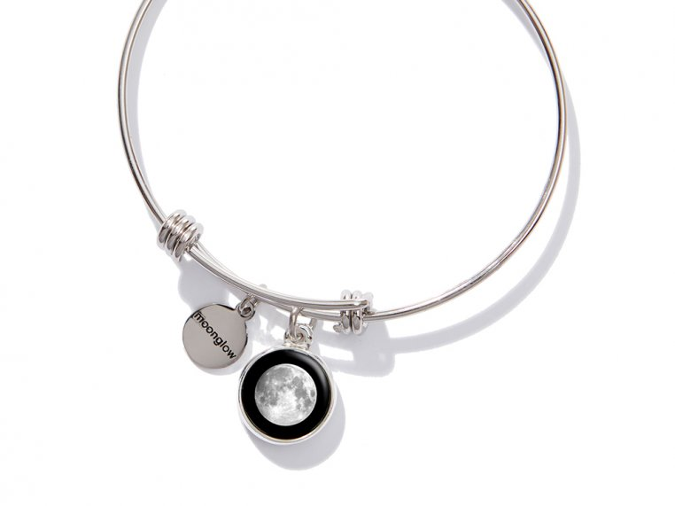Moonglow: Custom Date Moon Phase Bangle
